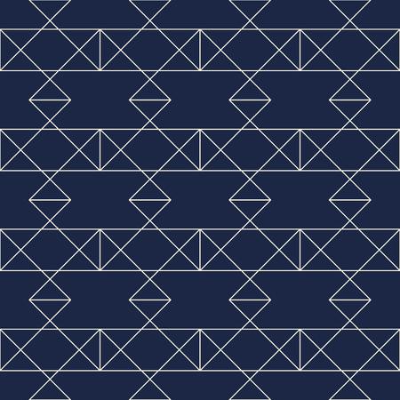 シームレスな幾何学模様。ベクトルシームレスパターン。菱形とノードを持つ幾何学的背景。幾何学的なデザイン。