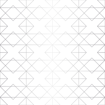 Seamless abstract geometric pattern. Silver background. Vector seamless pattern  イラスト・ベクター素材
