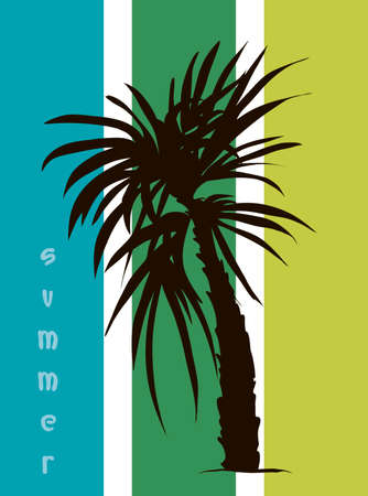 Tropical banner for your business