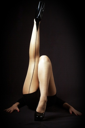 legs and stockings Stock Photo - 10799476