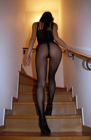 girl in bodystockings