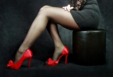 legs in stockings