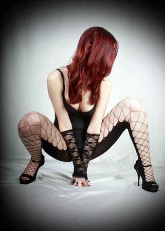 old style pin up