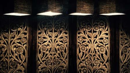 tallado en madera: Separador Alebrije