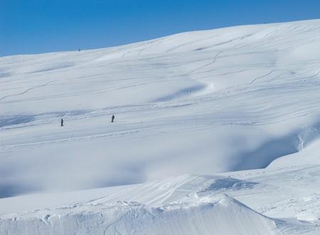 Ski slope, French alps Stock Photo - 7760624