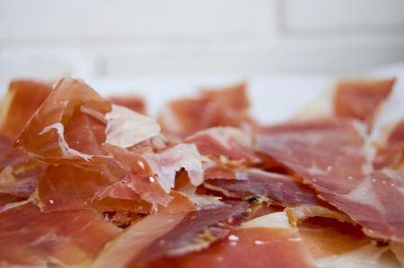 Spanish ham. Serrano,Iberico Ham. Spanish ham.