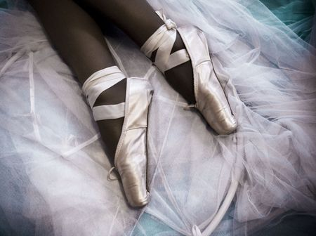 Ballet. Conceptual photo of effort, hard work, endurance, entertainment, elegance.