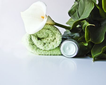 Bodycare products for different concepts: beauty, vations, lifestyle