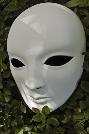 White mask for different concepts Stock Photo - 9602049