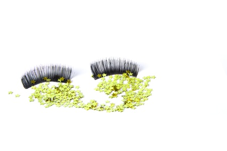 False eyelashes in black Stock Photo - 13181398