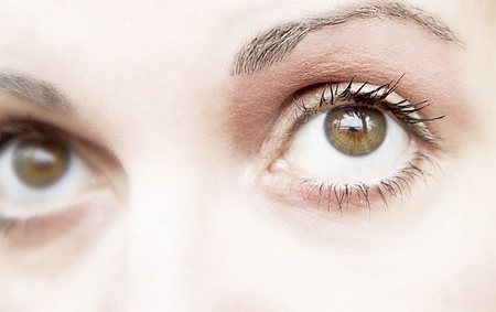 Eye of woman with natural makeup Stock Photo - 13282233