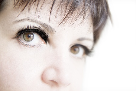 False eyelashes in black Stock Photo - 13282234