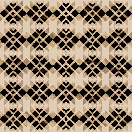 Pattern beige and black