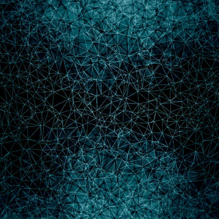 polygonal background blue and black