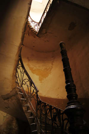 Old staircase in Tbilisi houses of 18-19 centuries, Republic of Georgia                     Stock Photo - 12073862