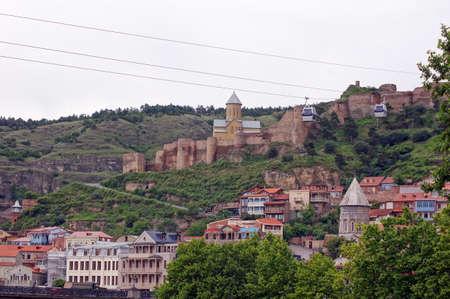 crist: Traditional carving balconies of Tbilisi, Kalaubani area