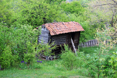 ethnographical: Open-air enthographical museum in the capital of Republic of Georgia - Tbilisi