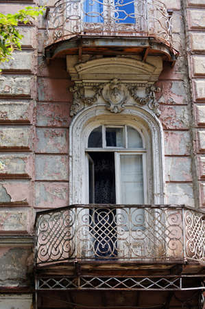 property berlin: Old staircase in Tbilisi houses of 18-19 centuries, Republic of Georgia