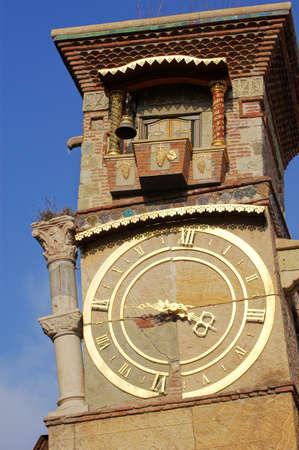 tbilisi: orologio di Tbilisi falling torre, Tbilisi, Georgia