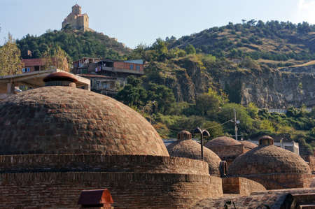 Old Tbilisi: restored area of ancient sulfur baths, Abano