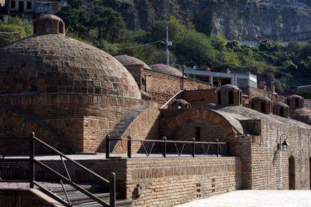 sulfur: Old Tbilisi: restored area of ancient sulfur baths, Abano