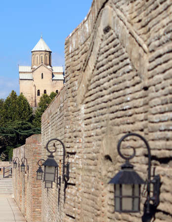 crist: Old Tbilisi: restored area of ancient sulfur baths, Abano