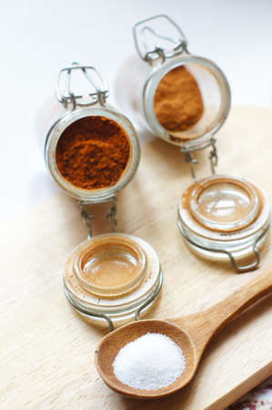closeup of different georgian spices Stock Photo - 18403283