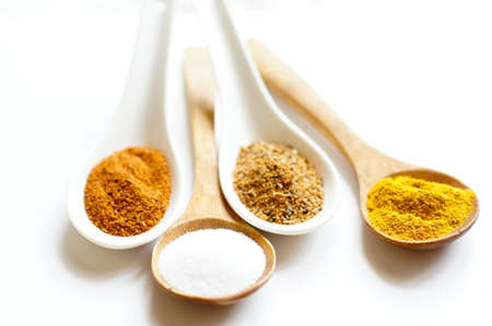 closeup of different georgian spices Stock Photo - 18403288