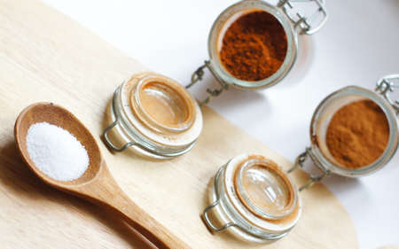 closeup of different georgian spices Stock Photo - 18537453