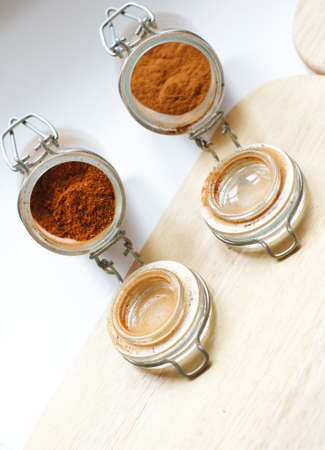 closeup of different georgian spices Stock Photo - 18537452