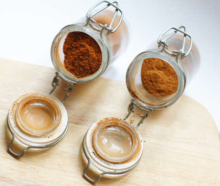 closeup of different georgian spices Stock Photo - 18537511