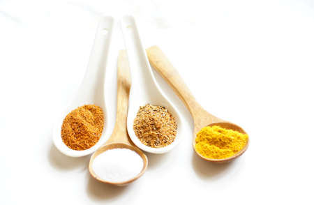 closeup of different georgian spices Stock Photo - 18670793