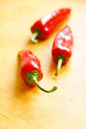 Healthy breakfasr: fresh red peper Stock Photo - 19217873