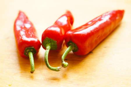 Healthy breakfasr: fresh red peper Stock Photo - 19217949