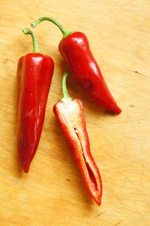 Healthy breakfasr: fresh red peper Stock Photo - 19217960