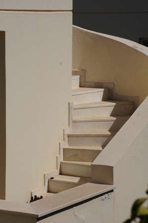 baukunst: Traditional aegean architecture - outddor stairs, Bodrum, Turkey