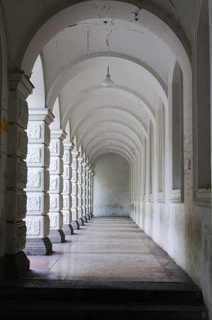 rustaveli: Architecture of Old Tbilisi, arcade of Viceroy palace on Rustaveli avenue