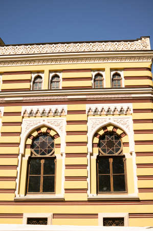rustaveli: Main facade of Tbilisi Opera House Editorial