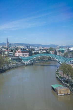 crist: Old Tbilisi: riverside of Mtikvari river
