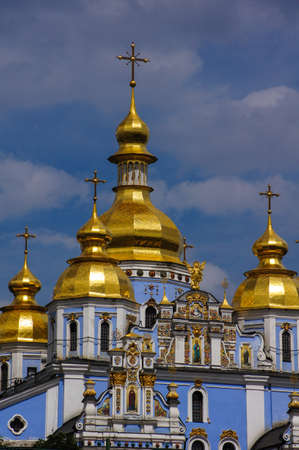 St Michael's Golden Domed Monastery in Kiev, Ukraine Фото со стока