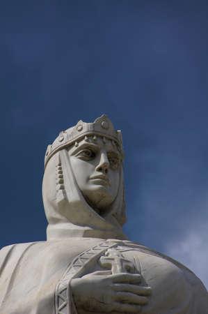 apostle: KIEV, UKRAINE -JUNE 11, 2015:Monument to Princess Olga, St. Apostle Andrew the first-called and equal to the apostles Cyril and Methodius in Kiev .June 11, 2015 Kiev, Ukraine