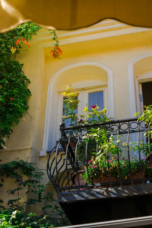 Summer time in old Tbilisi, capital of Republic of Georgia