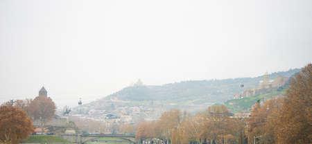 Winter time in Tbilisi, Republic of Georgia Banco de Imagens - 91898238