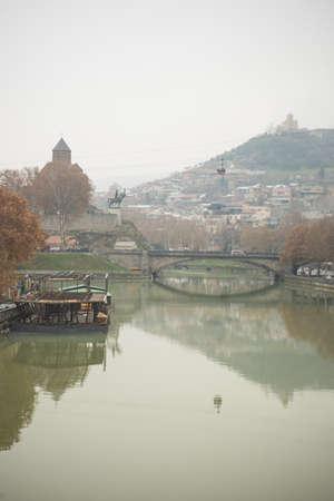 Winter time in Tbilisi, Republic of Georgia