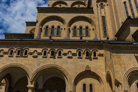 St. Trinity or Sameba orthodox cathedral in Tbilisi, Georgia