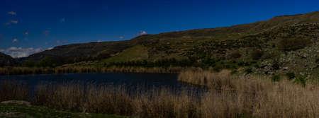 Lake in Caucasus mountain range close to Turkish nd Georgian border Stock fotó