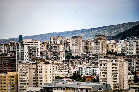 View to new central areas of Tbilisis downtown - Vake and Saburtalo, Republic of Georgia