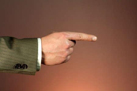 Business hand photo
