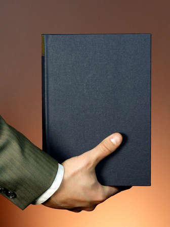 Book in business hand