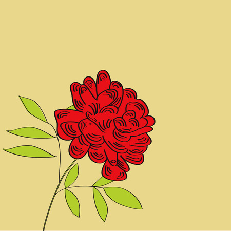 pion: Background with red pion